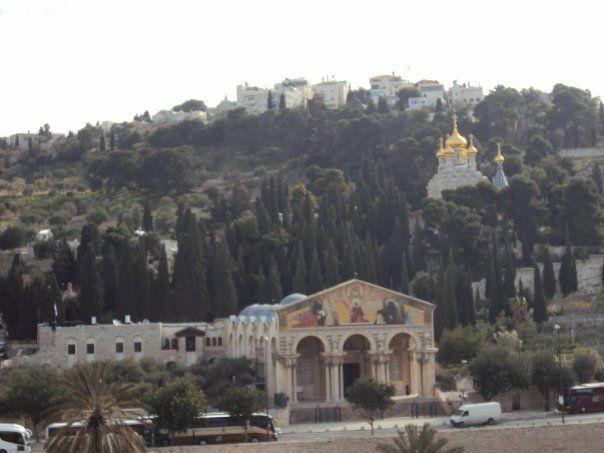 エルサレム旧市街内にて