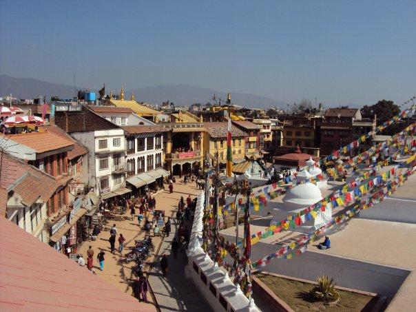 ネパール ボダナート