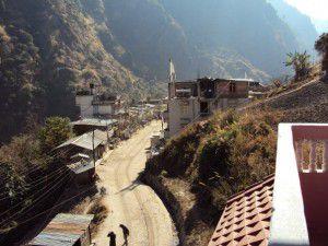 ネパール ランタン谷山間部の村