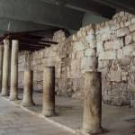 イスラエル 神殿の柱跡
