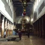 ベツレヘムの聖誕教会の中