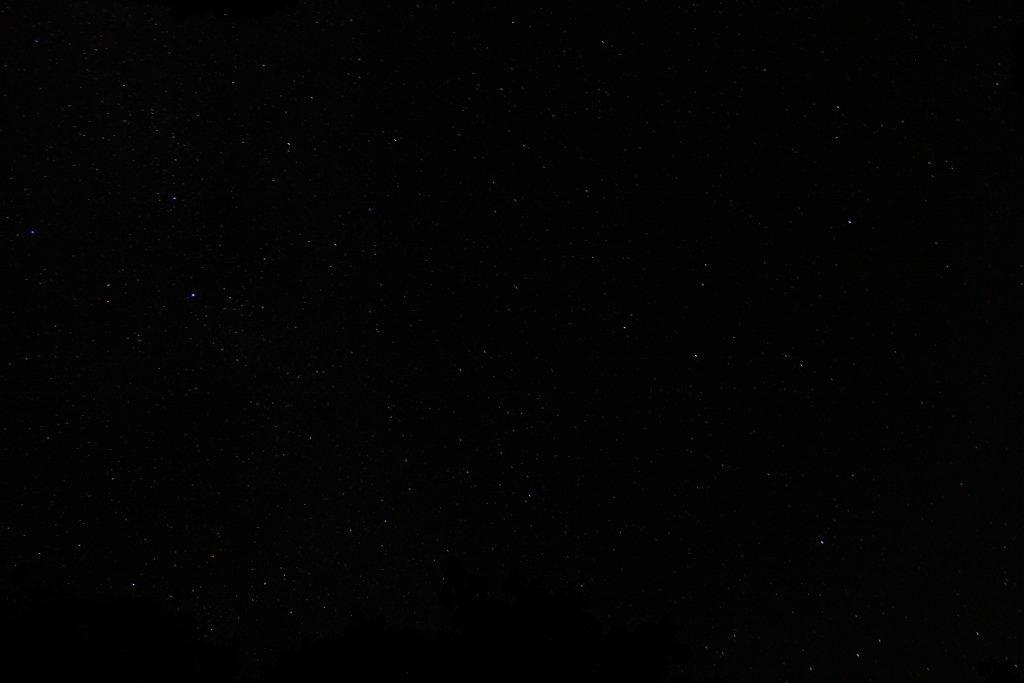 碓氷峠の星空