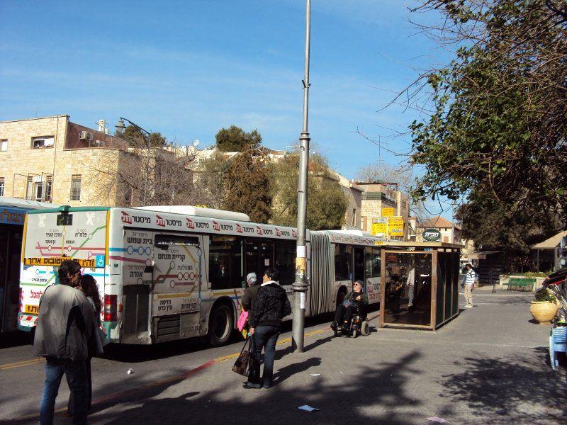 エルサレムバス停
