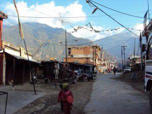 ネパール ランタントレッキングで滞在した村