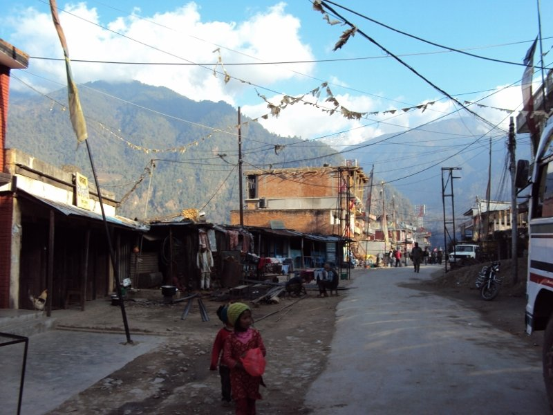 ネパール ランタン 村