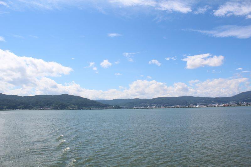 諏訪湖クルージング (2)