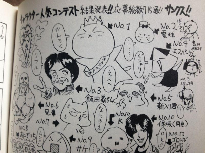 うめぼしの謎 キャラクター人気コンテスト