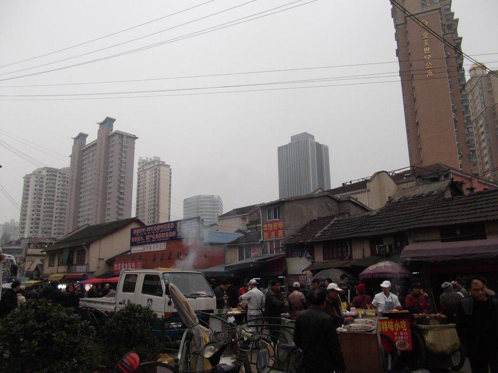 上海 音像城の近く