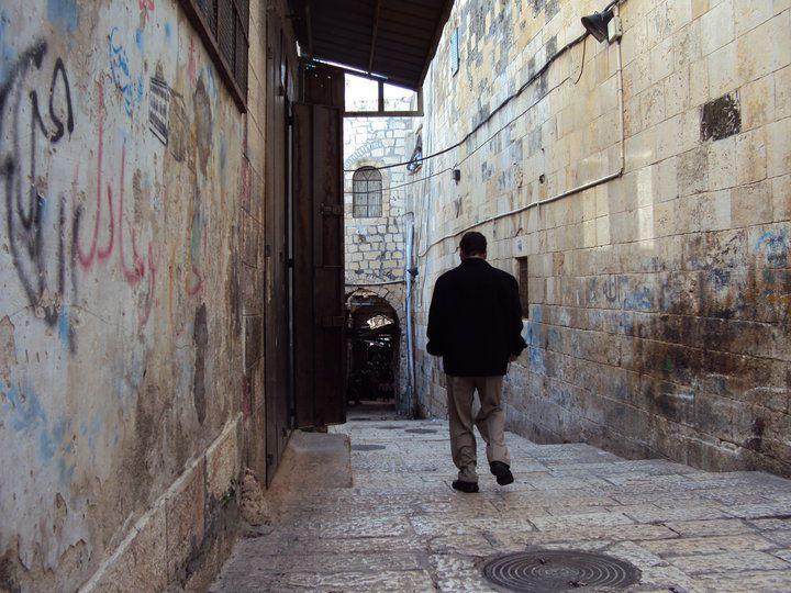 エルサレム旧市街の中