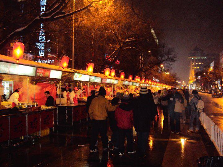 北京の屋台