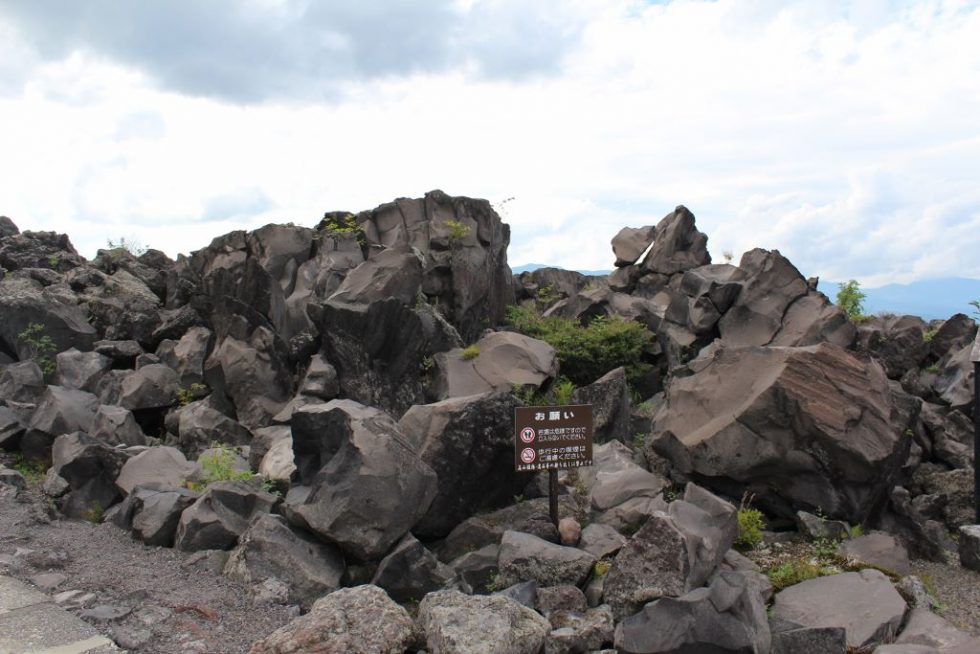 鬼押出し園の岩2