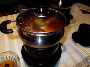 上海 まずは鍋