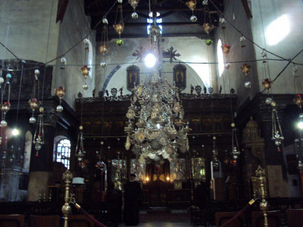 ベツレヘム 聖誕教会(降誕教会)内