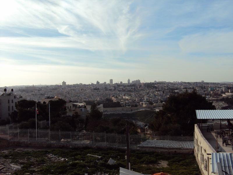 エルサレム オリーブの丘から