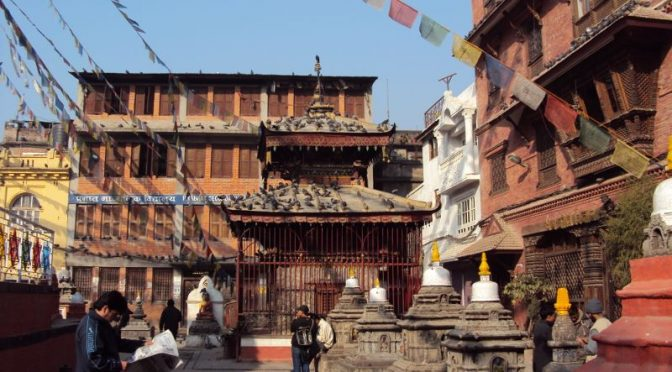 ネパール旅行記 カトマンズ