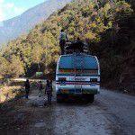 ネパール ランタン バス
