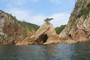 千貫松島(せんがんまつしま)