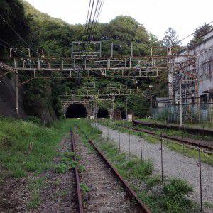 碓氷峠 アプトの道 熊ノ平駅前