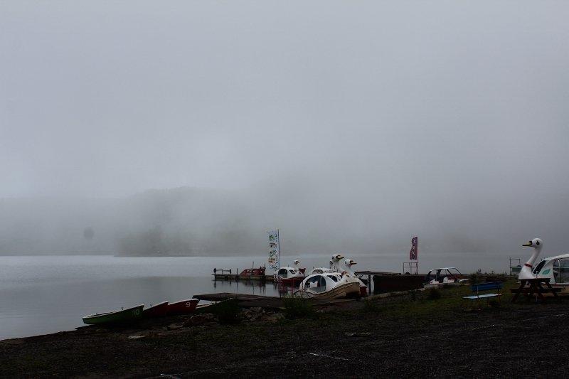 大沼(おの)ボート乗り場
