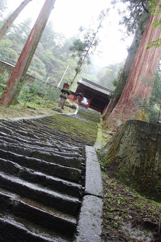 妙義神社の石段