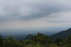 榛名富士山頂から