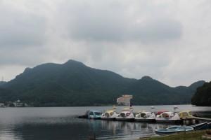 榛名湖(ボート乗り場)