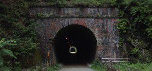 碓氷峠「アプトの道」トンネル