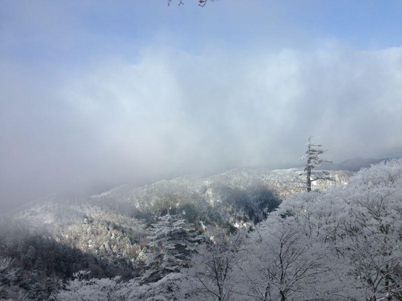 大峯山からみる景色