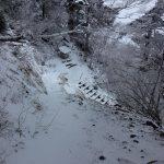 積雪した大峯山(大峰山・山上ヶ岳)を歩く