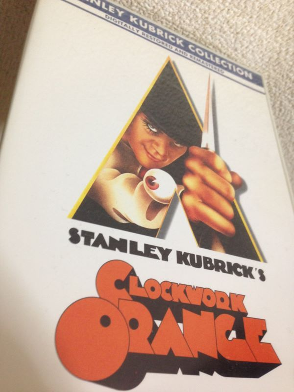 時計じかけのオレンジ(CLOCKWORK ORANGE)