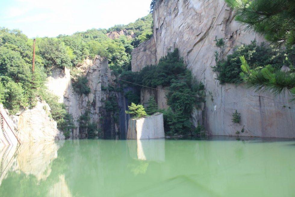 馬越丁場跡(丁場湖)