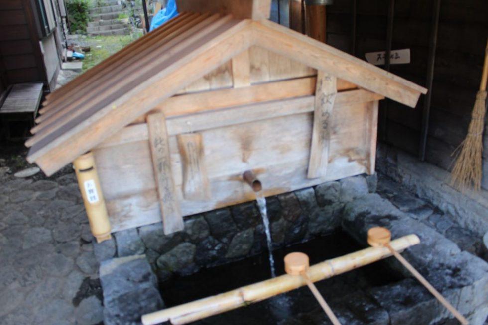 奈良井宿 水飲場2