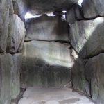 石舞台古墳内部