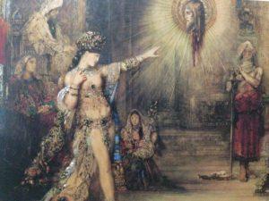 ギュスターヴ・モロー 出現 ヘロデ王の前で踊るサロメ