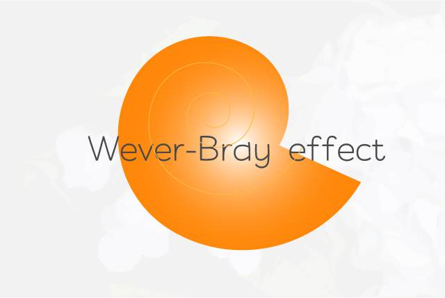 Wever-Bray-effect