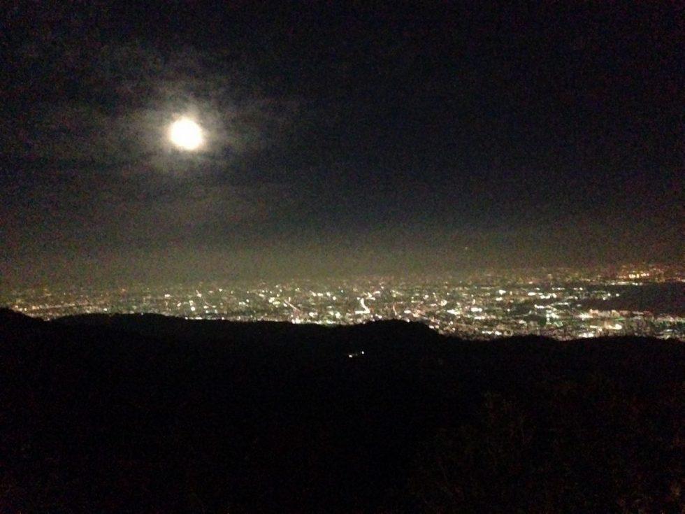 六甲山から見る景色(夜)