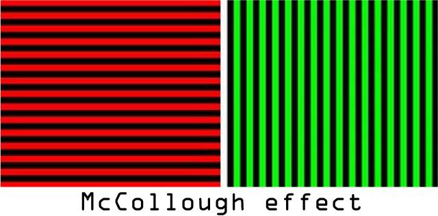 マッカロー効果 McCollough effect