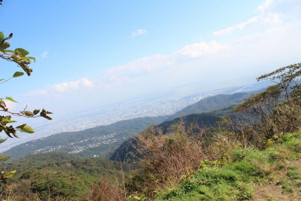 六甲山から見る景色(昼)