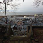 越前町 宿(しゅく)高台から見える景色