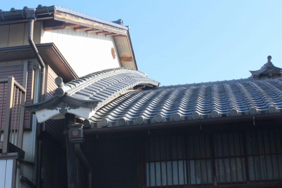 アーチ状のうだつ 岐阜県美濃市