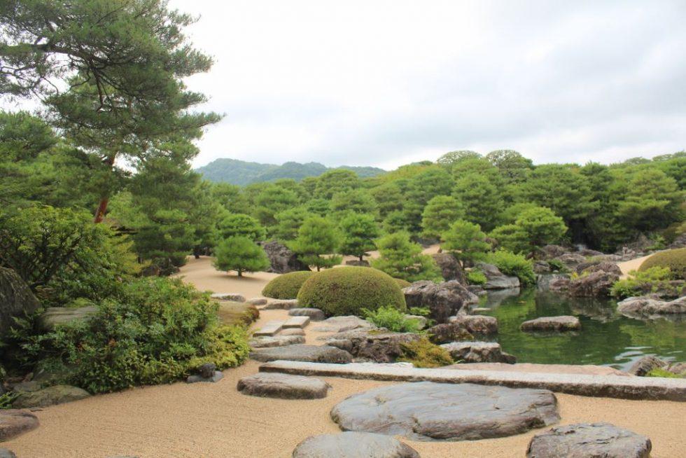 足立美術館 日本庭園 白砂青松庭