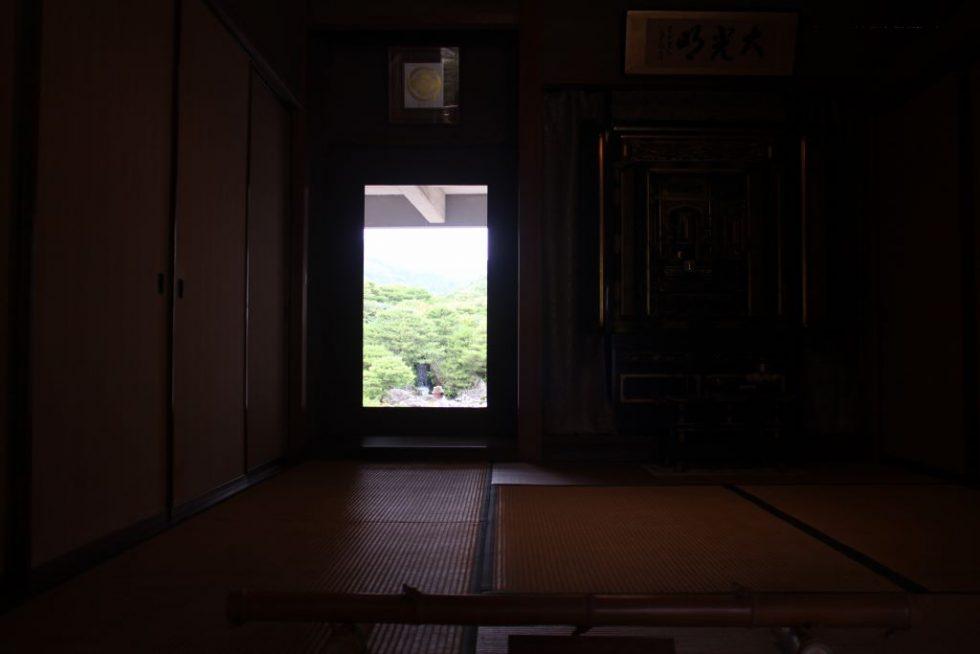 足立美術館 日本庭園 生の掛軸