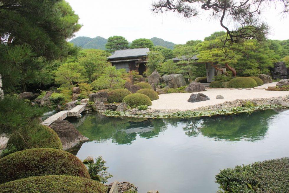 足立美術館 日本庭園 池庭
