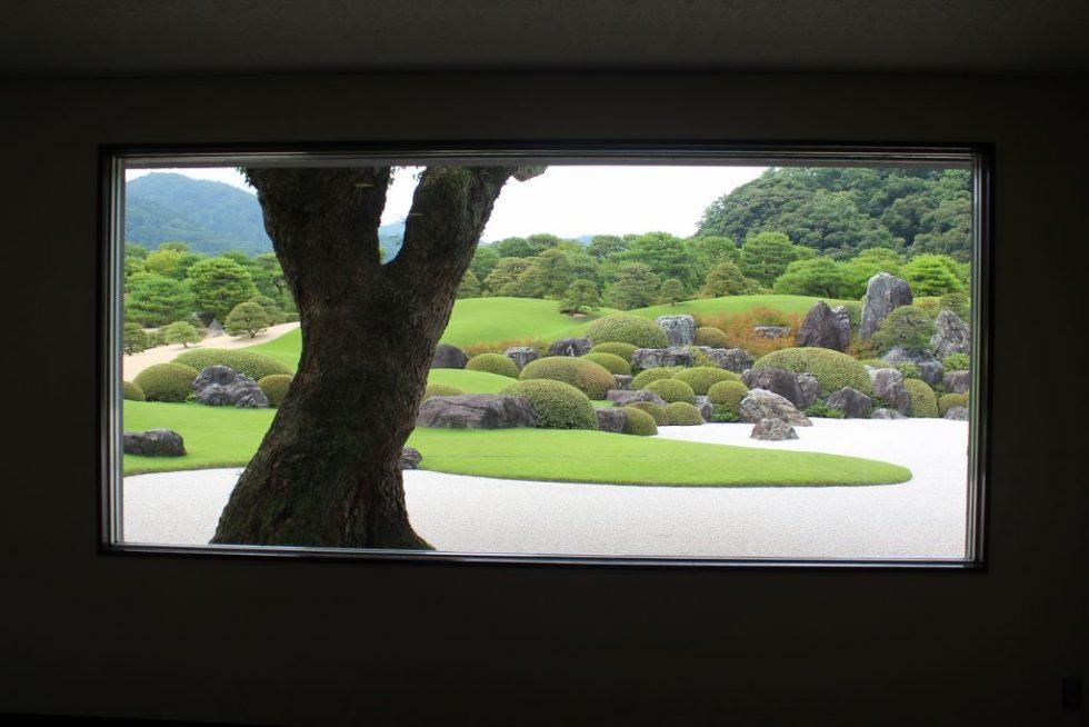 足立美術館 日本庭園4