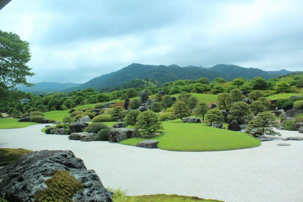 足立美術館 日本庭園3