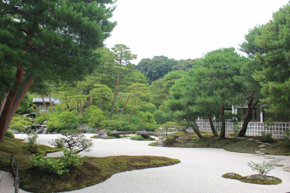 足立美術館 日本庭園2