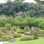 足立美術館 日本庭園5 亀鶴の滝
