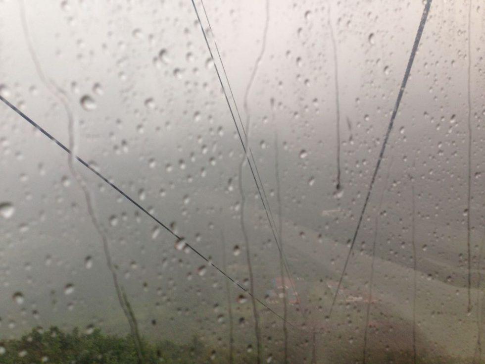 榛名山ロープウェイ 豪雨2