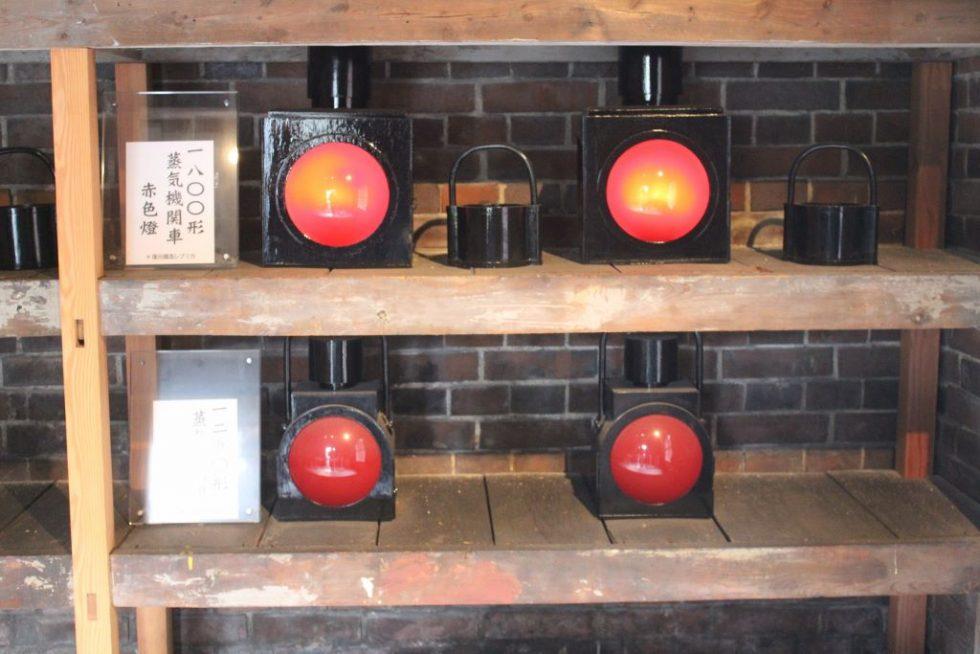 蒸気機関車赤色燈