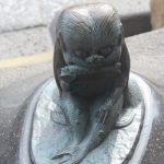 海女房 妖怪ブロンズ像